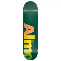 Дека Almost Fall Off Logo HYB Green