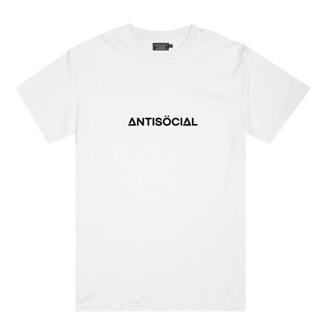 Футболка Antisocial Basic White