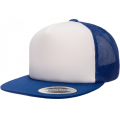 Кепка FlexFit 6005FW NOFOAM Trucker - Royal/White/Royal
