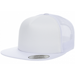 Кепка FlexFit 6005FF Trucker - White