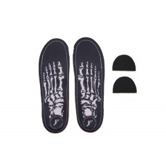 Стельки Footprint Kingfoam Orthotics Skeleton Black
